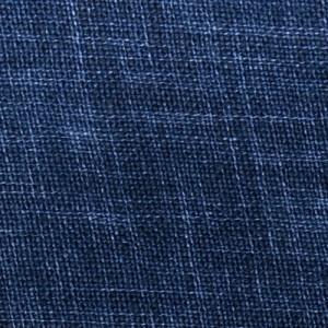 Mazzarelli Shirt Linen Navy Blue