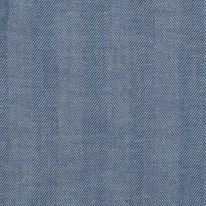 Mazzarelli Herringbone Blue