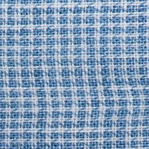 Mazzarelli Shirt Houndstooth Blue