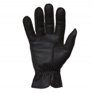 Mazzoleni Gloves Dark Brown