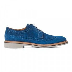 Pal Zileri Brogue Cobalt Blue