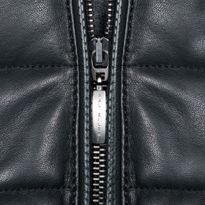 Pal Zileri Leather Coat Black