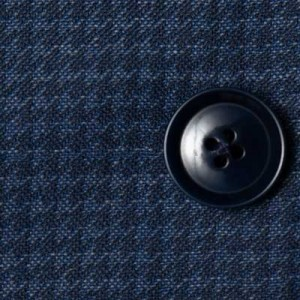 Pal Zileri Suit Blue Houndstooth