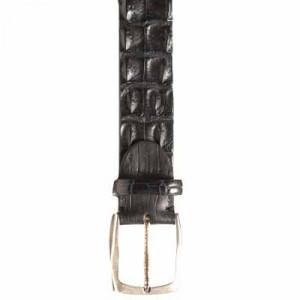 Paolo Vitale Horn Back Belt Black