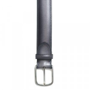 Paolo Vitale Calf Leather Grey Belt