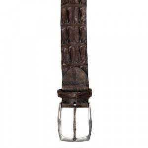 Paolo Vitale Horn Back Belt Brown