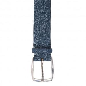 Paolo Vitale Belt Stingray Blue