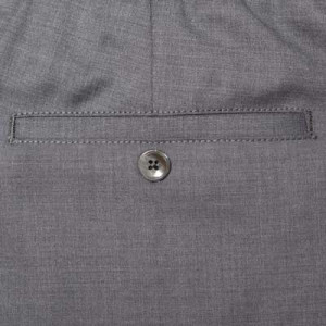 Marco Pescarolo Woolen Trousers Grey