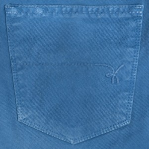 Re-Hash Cotton 5-Pocket Light Blue