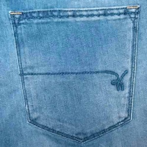 "Re-Hash ""TRC"" Light-Blue Jeans"