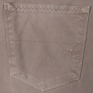 Re-Hash Cotton 5-Pocket Beige