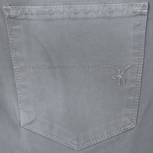 Re-Hash Cotton 5-Pocket Grey