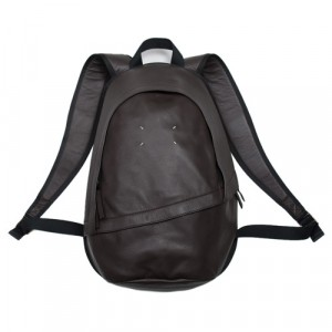 Maison Margiela Leather Backpack Brown