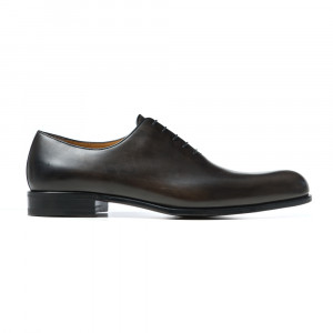 Testoni Wholecut Leather Shoes Grey