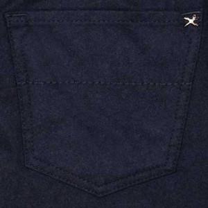 """Tramarossa Flannel 5-Pocket """"Leonardo"""" Blue"""