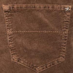"""Tramarossa 5-Pocket Ribcord Brown """"Leonardo"""""""