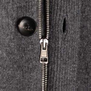 Zanone Cardigan Wool-Cashmere Grey