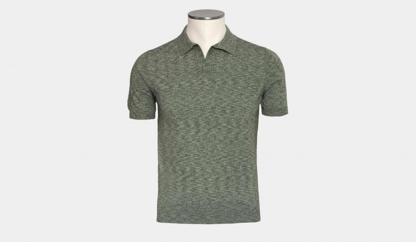 Barba Napoli Polo Green
