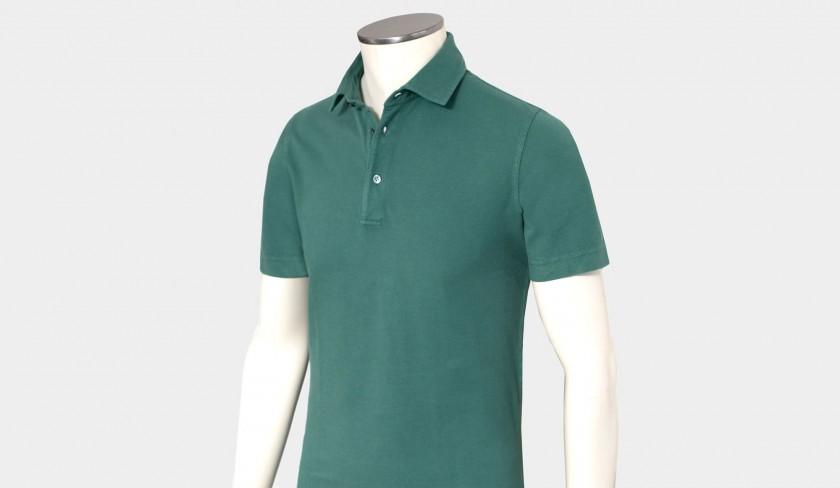 Drumohr Garment dyed Polo