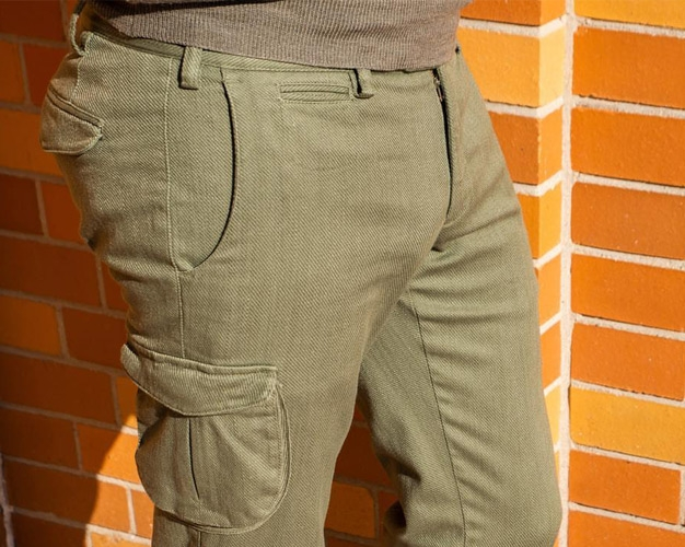 A nice stack of Germano trousers