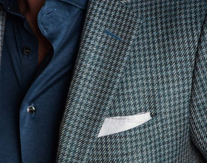 Closeup of a Pal Zileri Jacket